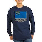 Nevada Proud Citizen Long Sleeve Dark T-Shirt