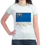 Nevada Proud Citizen Jr. Ringer T-Shirt