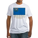 Nevada Proud Citizen Fitted T-Shirt