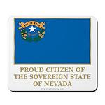 Nevada Proud Citizen Mousepad