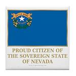 Nevada Proud Citizen Tile Coaster