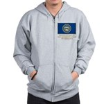 Nebraska Proud Citizen Zip Hoodie