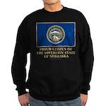 Nebraska Proud Citizen Sweatshirt (dark)