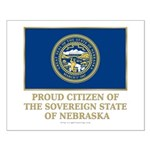 Nebraska Proud Citizen Small Poster