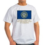 Nebraska Proud Citizen Light T-Shirt