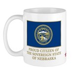 Nebraska Proud Citizen Mug