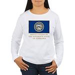 Nebraska Proud Citizen Women's Long Sleeve T-Shirt