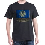 Nebraska Proud Citizen Dark T-Shirt
