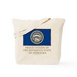 Nebraska Proud Citizen Tote Bag