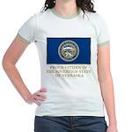 Nebraska Proud Citizen Jr. Ringer T-Shirt