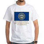 Nebraska Proud Citizen White T-Shirt