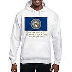 Nebraska Proud Citizen Hooded Sweatshirt