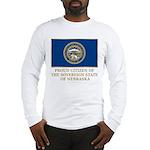 Nebraska Proud Citizen Long Sleeve T-Shirt