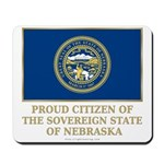 Nebraska Proud Citizen Mousepad