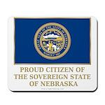 Nebraska Proud Citizen Mousepad