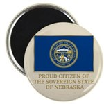 Nebraska Proud Citizen Magnet