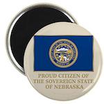 Nebraska Proud Citizen Magnet