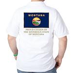 Montana Proud Citizen Golf Shirt