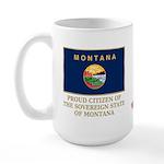 Montana Proud Citizen Large Mug