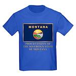 Montana Proud Citizen Kids Dark T-Shirt