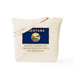 Montana Proud Citizen Tote Bag