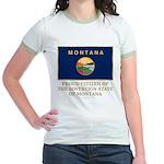 Montana Proud Citizen Jr. Ringer T-Shirt