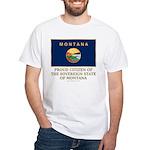 Montana Proud Citizen White T-Shirt