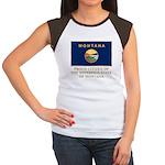 Montana Proud Citizen Women's Cap Sleeve T-Shirt