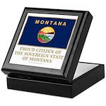 Montana Proud Citizen Keepsake Box