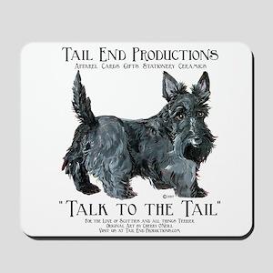 Scottie Logo Tail End Mousepad