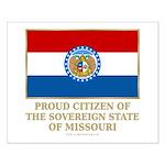 Missouri Proud Citizen Small Poster