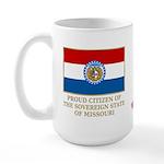 Missouri Proud Citizen Large Mug