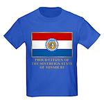 Missouri Proud Citizen Kids Dark T-Shirt