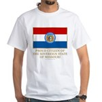Missouri Proud Citizen White T-Shirt