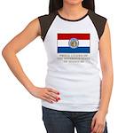 Missouri Proud Citizen Women's Cap Sleeve T-Shirt