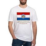 Missouri Proud Citizen Fitted T-Shirt