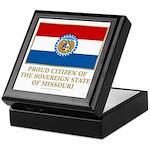 Missouri Proud Citizen Keepsake Box