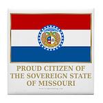 Missouri Proud Citizen Tile Coaster