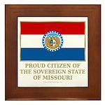 Missouri Proud Citizen Framed Tile