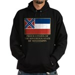 Mississippi Proud Citizen Hoodie (dark)