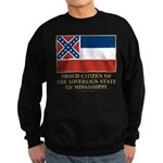 Mississippi Proud Citizen Sweatshirt (dark)