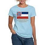 Mississippi Proud Citizen Women's Light T-Shirt