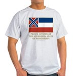 Mississippi Proud Citizen Light T-Shirt