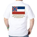 Mississippi Proud Citizen Golf Shirt