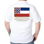 Mississippi Proud Citizen Golf Shirt