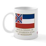 Mississippi Proud Citizen Mug