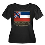 Mississippi Proud Citizen Women's Plus Size Scoop