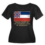 Mississippi Proud Citizen Women's Plus Size Scoop
