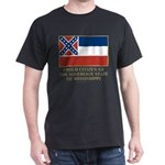 Mississippi Proud Citizen Dark T-Shirt