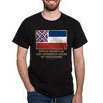 Mississippi Proud Citizen Dark T-Shirt